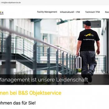 BS-Objektservice Webseite